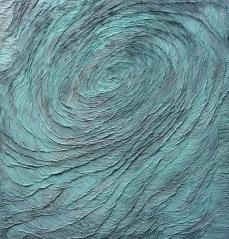 Swirl, acrylic on canvas