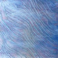 Magnitude III, acrylic on perspex