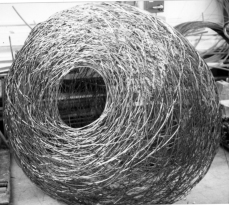 Wire structure, stainless steel