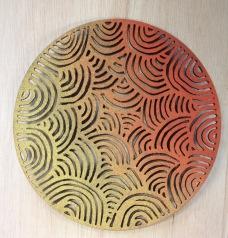 discs cork laser cut 1