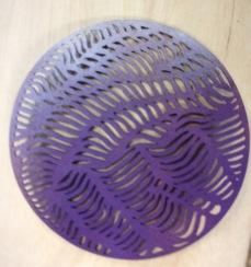 discs cork laser cut 5