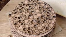 lasercut corck disks
