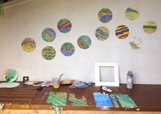 New forest residency Little Van Gogh