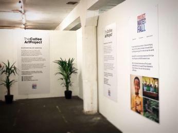 London coffee fair Art exhibition