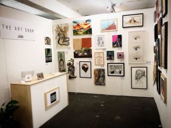 London coffee fair Art exhibition