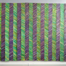 Volteface, mixed media on canvas