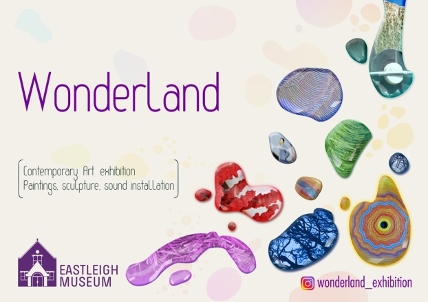 Wonderland exhibition at Eastleigh museum